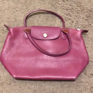Small leather Longchamp